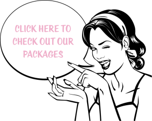 pinup makeover & photoshoot packages